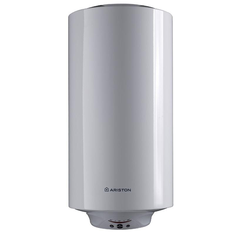 Водонагреватель электрический накопительный Ariston ABS PRO ECO SLIM PW 80 VОборудование, незаменимое во время сезонных отключений воды.<br>Электрические накопительные водонагреватели Ariston серия ABS Pro Eco<br>Power быстро нагревают жидкость и при этом обеззараживают ее.<br><br>Оборудование, которое повышает качество воды<br>Изнутри бак водонагревателя покрыт веществом, в состав которого входит серебро (Ag+). Благодаря ему стенки емкости становятся крепче, не трескаются и не покрываются ржавчиной, что в свою очередь гарантирует чистоту воды, проходящей через нагревательное устройство. Также внутреннее покрытие бака Ariston ABS Pro Eco Power обеспечивает защиту от роста числа бактерий.<br><br>Преимущества техники<br>Ускоренный нагрев воды. У водонагревателей Ariston серия ABS Pro Eco Power два нагревательных элемента вместо одного. Если нужно очень быстро нагреть воду, рекомендуется включить режим «Double Power» - 50 литров воды будут нагреты 45°С за 60 минут.<br>Высокое качество. При сварке деталей используется технология MICRO PLAZMA TIG. Такие швы максимально герметичны и не расходятся даже при давлении в системе 16 бар (по показаниям тестирования). Это гарантирует защиту отсутствие протечек при использовании водонагревателя Ariston ABS Pro Eco Power от.<br>Надежная система защиты. Устройства защищены от включения без воды, от перегрева, от скачков электроэнергии в сети. Благодаря этому техника исправно работает очень долго.<br>Максимально точные данные. На экране панели управления отображается температура воды в реальном времени. Благодаря электронному термостату показания отображаются с точностью до 1°С, и все установленные параметры всегда соответствуют действительности.<br>ECO - профессиональная система очистки воды и внутренней поверхности водонагревателя от бактерий.<br>Встроенный электронный термометр.<br>NANOMIX - система распределения воды, позволяющая получить больше нагретой воды за меньшее время.<br>Защита от перегрева.<br>Увеличенный магниевый анод