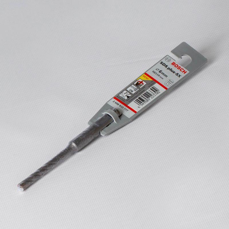 Бур 6-115мм SDS+ (50мм), BOSCH<br>Бренд: Bosch; Модель: 6-115мм sds+ 50мм; Код производителя: 1 618 596 166; Тип: С не большим углом наклона канавки; Тип хвостика: SDS-plus; Тип спирали: Двойной; Область применения: Бетон, кирпич; Общая длина: 115 мм; Рабочая длина: 50 мм; Диаметр: 6 мм; Количество в упаковке: 1 шт; Размеры: 6х115 мм; Родина бренда: Германия; Страна производитель: Германия; Вес: 0,043 кг;