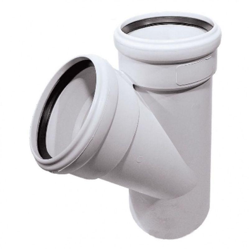 Купить со скидкой Тройник канализационный бесшумный Ostendorf 110х110 45°
