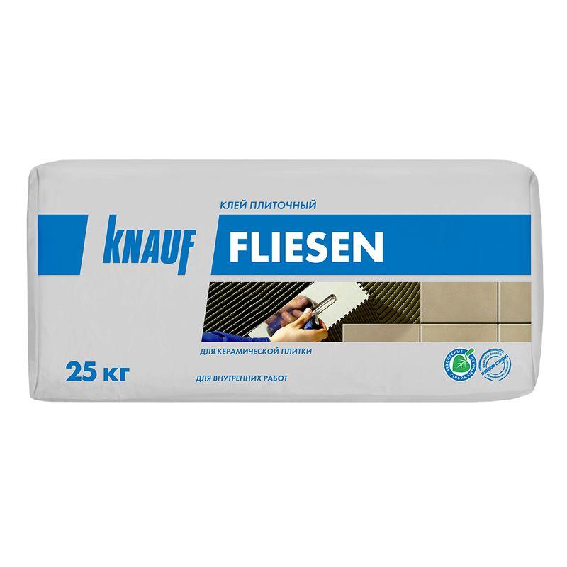 Купить со скидкой Клей для плитки Кнауф Флизен цемент, 25 кг