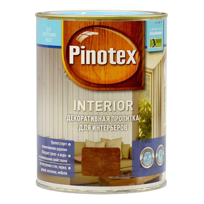 Пропитка декоративная для интерьеров Pinotex Interior Калужница, 1лДекоративная пропитка для древесины на водной основе, предназначена для внутренних работ. Образует водостойкую матовую пленку с высокими защитными и декоративными свойствами.<br>Особенности:<br>На водной основе,почти без запаха<br>Препятствует возникновению царапин<br>Обладает грязе- и водоотталкивающими свойствами<br>Сохраняет первоначальную яркость цвета<br>Глубоко проникает в структуру древесины<br>Бренд: Pinotex; Название: Interior; Объем: 1 л; Состав: Алкидная; Цвет производителя: Калужница; Расход для пиленой древесины: 5-9 м?/л; Тип работ: Для внутренних работ;