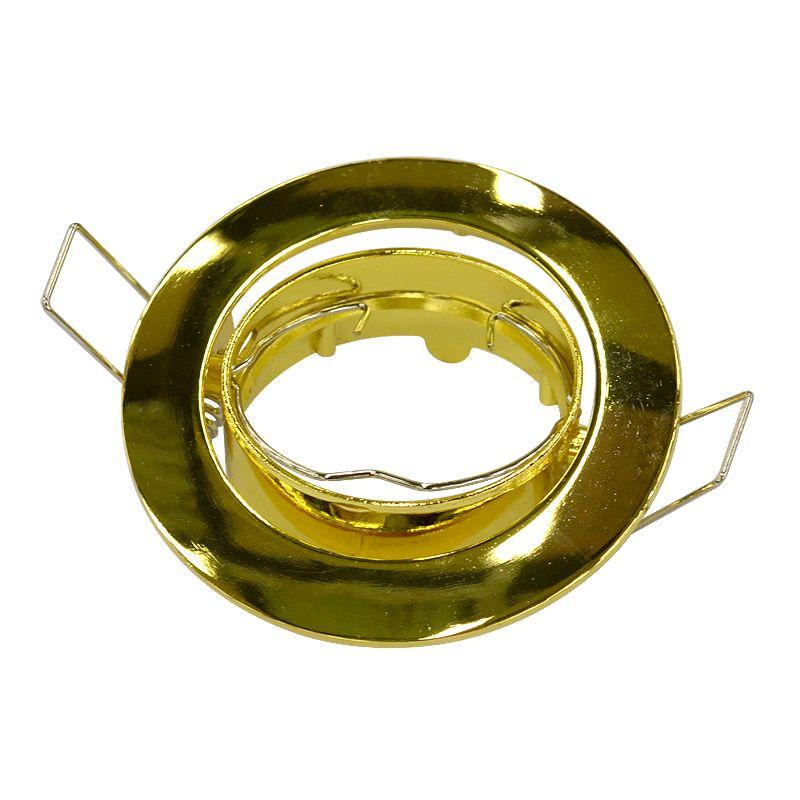 Точечный светильник поворотный 104S GD золото Ambrella