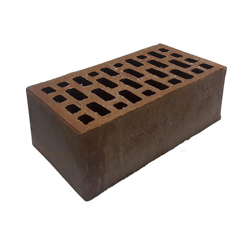 Кирпич облицовочный пустотелый полуторный М175/200, коричневый, Гжель<br>Марка прочности: М 175-200; Размер: 250х120х88 мм; Формат: Полуторный; Состав: Керамический; Стандарт: 1,4 НФ; Тип: Пустотелый; Цвет: Коричневый; Фасон: Прямой; Фактура: Гладкий; Морозостойкость: F 100; Водопоглощение: 8 %; Пустотность: 42 %; Масса одного кирпича: 3,0 кг; Бренд: Гжельский КЗ; Производитель: Г. Гжель;
