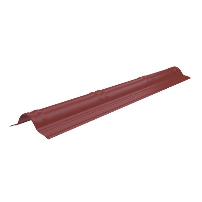 Конек Onduvilla 1060 х 194 мм красныйУпаковка 20 шт.<br>RAL: 3001; Полезная длина: 1020; Длина: 1060; Бренд: Onduvilla; Ширина: 194; Назначение: Еврошифер; Вес: 0,54; Цвет производителя: Красный; Толщина: 3 мм; Цвет: Красный; Покрытие: Модифицированный битум;