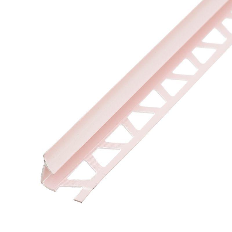 Закладка внутр.Е7-8 д/кафеля 2,5 м (св. розовый), 020Закладка для плитки толщиной 7 мм. Внутренняя.<br>Длина: 2,5 м; Цвет: Розовый; Материал: ПВХ; Высота: 7-8 мм;