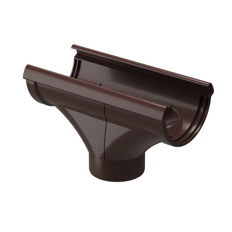 Воронка водосточная Docke LUX Шоколад<br>Бренд: Docke; Коллекция: Lux; Вид: Выпускная; Диаметр трубы: 85 мм; Диаметр желоба: 140 мм; Материал: Пластик; Сечение: Круглое; Цвет: Коричневый; Цвет производителя: Шоколад; Область применения: Для пвх водосточки; Страна производитель: Россия; Вес: 0,5 кг;