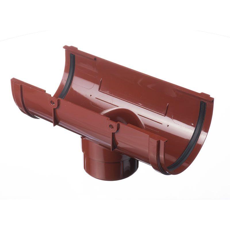 Воронка водосточная Docke Standart Гранат<br>Бренд: Docke; Коллекция: Standard; Вид: Выпускная; Диаметр трубы: 85 мм; Диаметр желоба: 120 мм; Материал: Пластик; Сечение: Круглое; Цвет: Красный; Цвет производителя: Гранат; Область применения: Для пвх водосточки; Страна производитель: Россия; Вес: 0.29 кг;