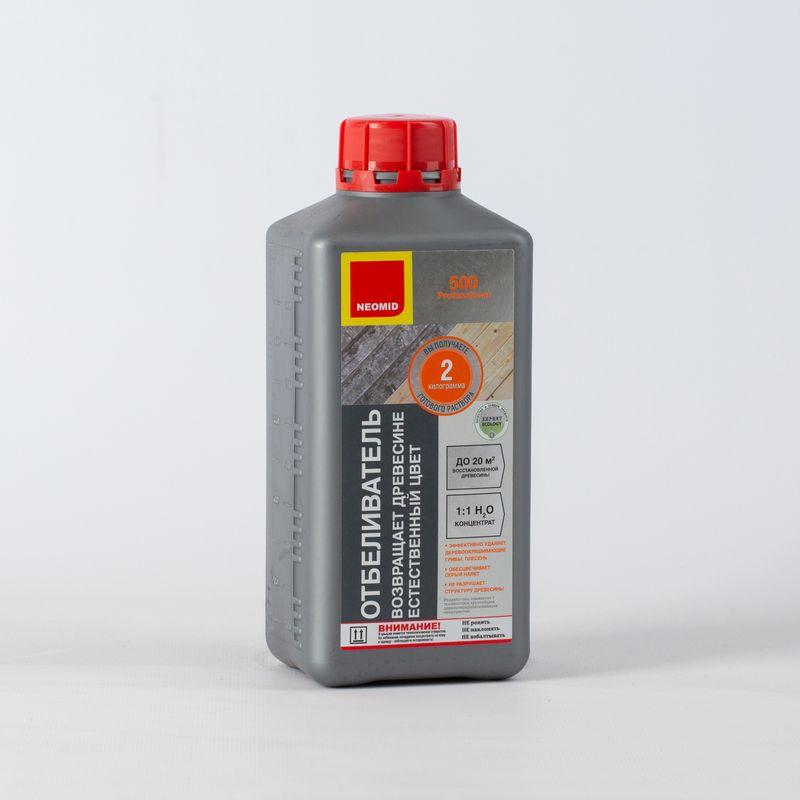 Купить Отбеливатель для древесины NEOMID 500, 1кг (концентрат)