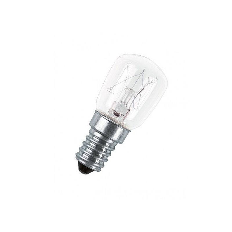 Лампа накаливания 235-245-15вт Е14 для холодильника
