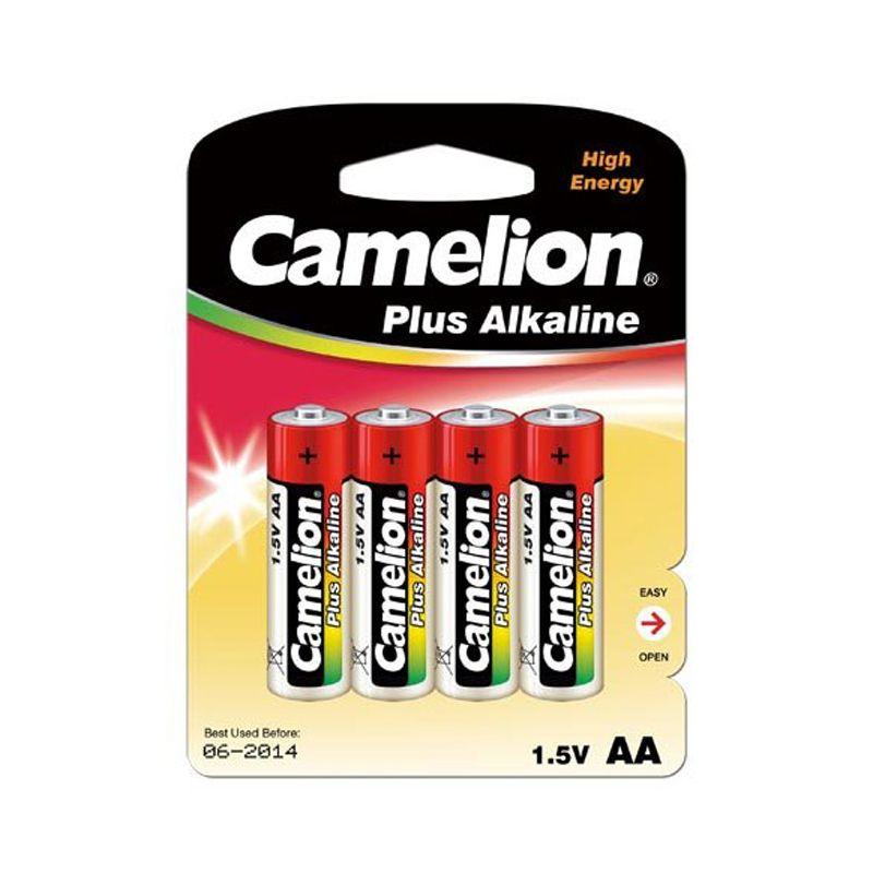Элемент питания АА LR06 (4шт) Camelion