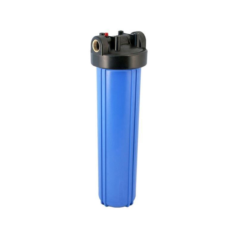 Фильтр магистральный BB корпус 20, 1 Аквабрайт (без кронштейна, латун.резьба, ключ, +35С, 8Атм.)