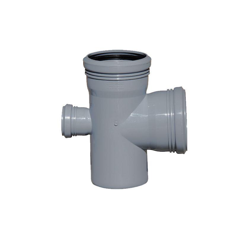 Крестовина канализационная РосТурПласт 110х110х50 87,5°<br>Диаметр: 110/110/50 мм; Угол поворота: 87,5 °; Максимальная температура рабочей среды: + 80 °C; Материал: Полипропилен; Бренд: РТП; Страна производитель: Россия;