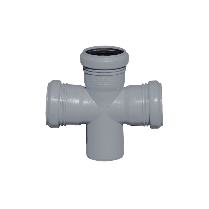 Крестовина канализационная РосТурПласт 50х50х50 87,5°<br>Диаметр: 50/50/50 мм; Угол поворота: 87,5 °; Максимальная температура рабочей среды: + 80 °C; Материал: Полипропилен; Бренд: РТП; Страна производитель: Россия;