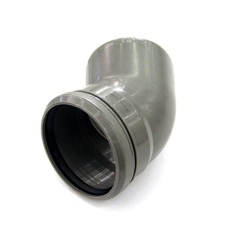 Отвод канализационный РосТурПласт 110 45°<br>Тип канализации: Внутренняя; Материал: Полипропилен; Диаметр: 110 мм; Угол поворота: 45 °; Максимальная температура рабочей среды: + 95 °C; Бренд: РТП; Страна производитель: Россия;