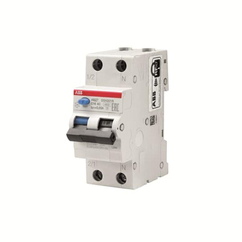 Дифференциальный автомат 1п+N 2мод. C 25A 30mA тип AC 4.5kA DSH941R ABB<br>Страна производитель: Италия; Бренд: ABB; Серия: DSH941R; Тип конструкции: Модульный; Количество занимаемых модулей: 2; Количество полюсов: 1; Тип расцепителя: Электромагнитный; Количество фаз: 1; Класс модуля: Ac; Класс срабатывания при защите от короткого замыкания: C; Класс токоограничения: 3; Номинальная отключающая способность дифференциального тока: 30 мА; Номинальный ток: 25 А; Максимальный ток: 4500 А; Номинальное напряжение: 220 В; Способ монтажа: На din-рейку; Номинальная частота: 50 Гц; Электрическая износостойкость: 10000 циклов; Механическая износостойкость: 20000 циклов; Степень защиты: IP 40;
