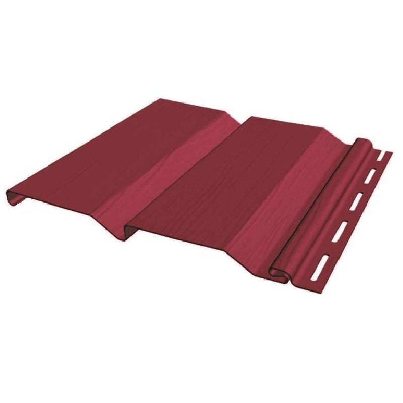 Сайдинг виниловый FineBer Standart Extra Color бордо 3660х205мм