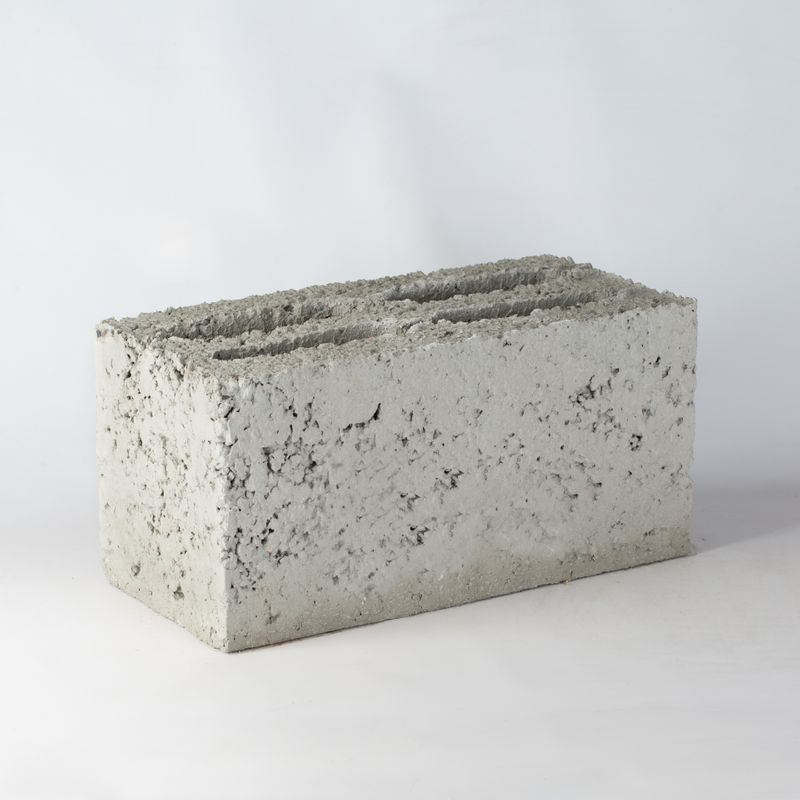 Блок керамзитобетонный М-50 390х190х188 мм