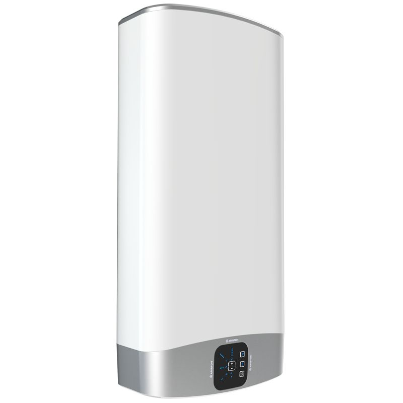 Водонагреватель электрический накопительный Ariston ABS VLS EVO INOX PW 80<br>Объем: 80 л; Тип установки: Вертикальный; Вид водонагревателя: Плоский; Комплектация: С кабелем; Способ установки: Настенный; Мощность: 1,5+1 КВт; Напряжение: 220 В; Тип бака: Нержавеющая сталь; Максимальный нагрев: 80 С; Время нагрева стандарт режим: 186 мин; Присоединительный диаметр:  1/2; Модель: Abs vls evo inox pw; Габариты: 1066*506*275 мм; Вес: 27 кг; Страна производитель: Китай; Гарантия: 7 лет; Бренд: Ariston;