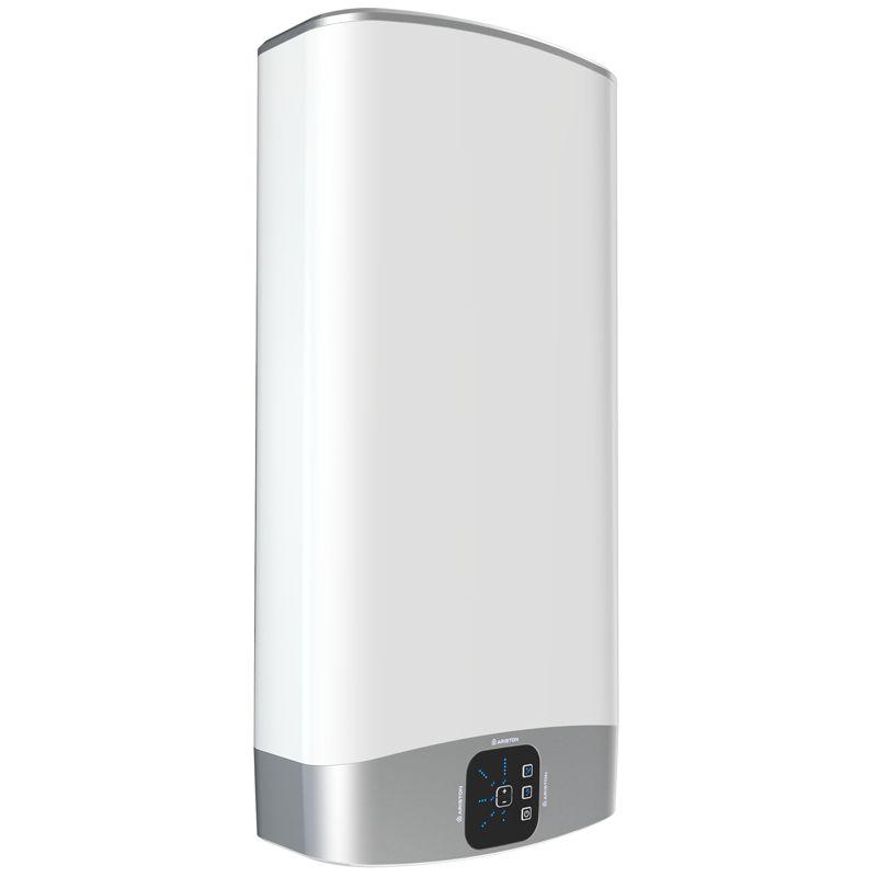 Водонагреватель электрический накопительный Ariston ABS VLS EVO PW 50<br>Объем: 50 л; Тип установки: Вертикальный; Вид водонагревателя: Плоский; Комплектация: С кабелем; Способ установки: Настенный; Мощность: 1,5+1 КВт; Напряжение: 220 В; Тип бака: Эмалированная сталь; Максимальный нагрев: 80 С; Время нагрева стандарт режим: 116 мин; Присоединительный диаметр:  1/2; Модель: Abs vls evo inox pw; Габариты: 506*776*275 мм; Вес: 21,3 кг; Страна производитель: Россия; Гарантия: 5 лет; Бренд: Ariston;