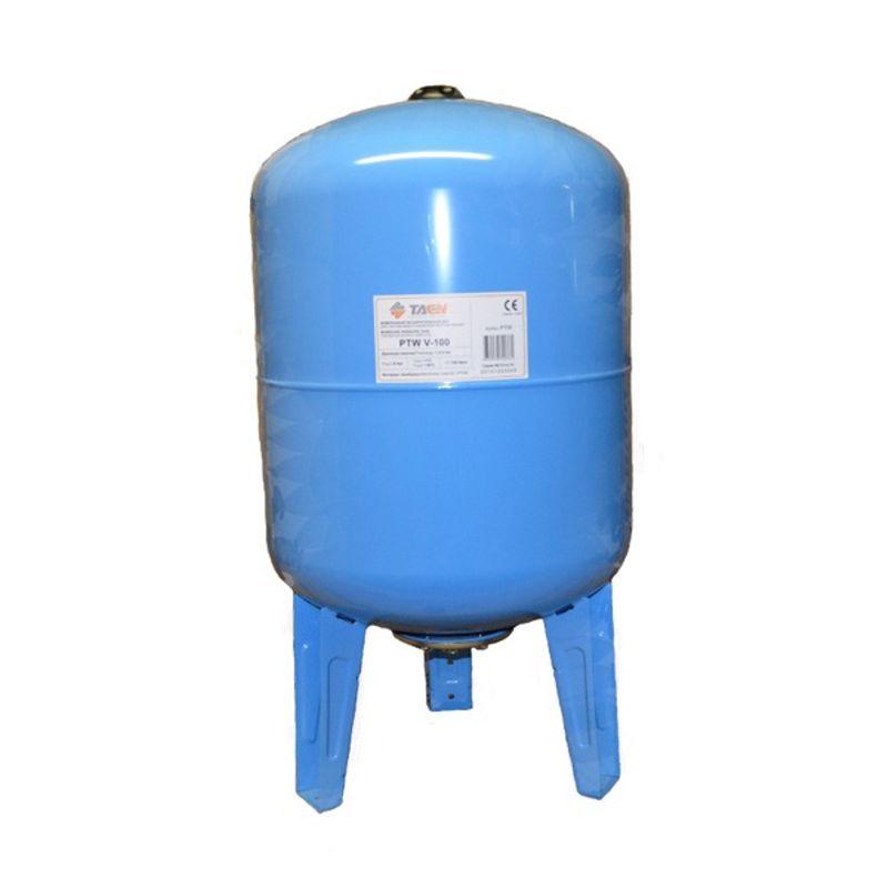 Бак расширительный для водоснабжения вертикальный PTW V-100 TAEN (синий)
