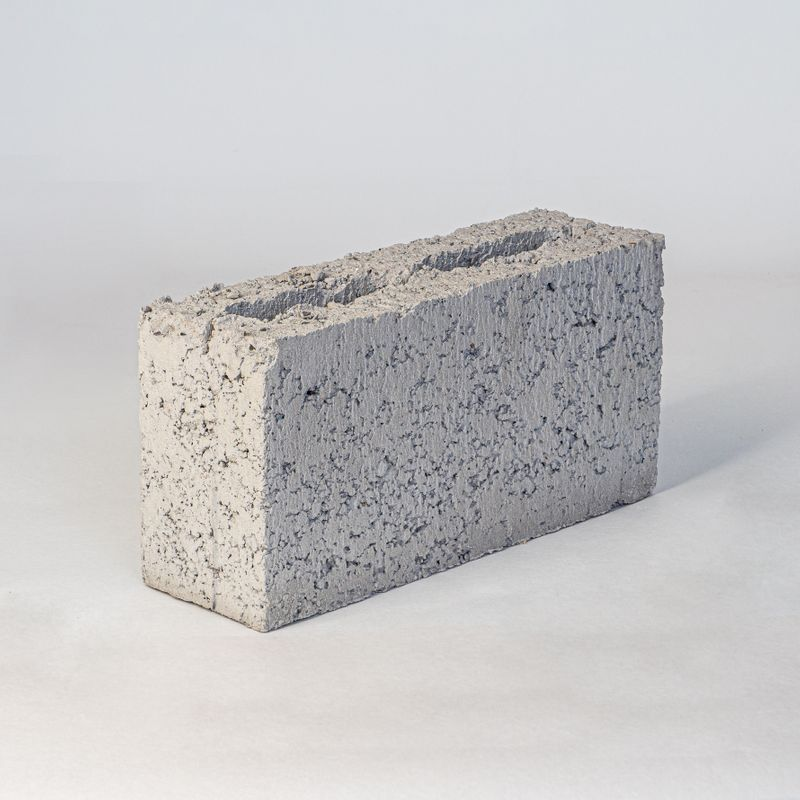 Блок керамзитобетонный М-35 390х120х188 мм