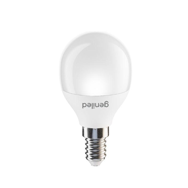 Лампа светодиодная шар 6Вт Е14 теплый свет Geniled<br>Гарантия: 2 года; Страна производитель: Китай; Бренд: Geniled; Назначение: Для светильников; Назначение: Бытовая; Типоразмер цоколя: Е14; Длина: 81 мм; Диаметр: 44 мм; Форма лампы: Вытянутый шар; Цвет лампы: Белая; Цвет свечения: Теплый; Номинальное напряжение: 180-240 В; Потребляемая мощность: 6 Вт; Световой поток: 600 Лм; Цветовая температура: 2700 К; Светорегулирование: Недиммируемая; Срок службы: 40000 ч; Температура эксплуатации: От -20°С до +40°С;