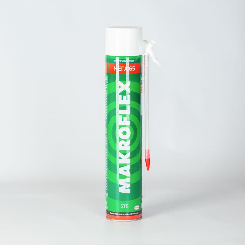 Пена монтажная Makroflex 65 бытовая, 800 мл