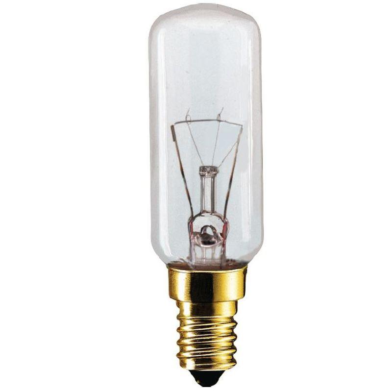 Лампа мини T25 Appl 40W E14 235V CL d25x86 PHILIPS Вытяжка<br>