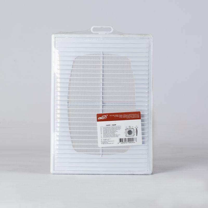 Решетка вентиляционная ERA 250х180 (1825П)Решетка вентиляционная ERA 250х180 (1825П)<br><br>Решётка для бытовой вентиляции от компании Era. Материал &amp;ndash; белый пластик ABS. Размеры &amp;ndash; 250х180 мм.<br><br>НАЗНАЧЕНИЕ:<br><br>Для декорирования отверстий входа и выхода воздуховодов в бытовой вентиляции различного типа.<br><br>ПРЕИМУЩЕСТВА:<br><br>ABS-пластик устойчив к щелочам, моющим средствам, влаге и высоким температурам.<br>У решётки съёмная передняя панель.<br>ABS-пластик &amp;ndash; нетоксичный материал.<br><br>РЕКОМЕНДАЦИИ:<br><br>Вентиляцию из пластика стоить делать только для бытовых условий. В промышленных и производственных помещениях из-за неё может произойти пожар.<br>Страна производитель: Россия; Бренд: Эра; Тип: Приточная; Тип: Вытяжная; Вид: Потолочная; Вид: Настенная; Тип установки: Наружняя; Форма: Прямоугольная; Материал: Пластик; Наличие сетки: Да; Способ монтажа: Винтовой; Способ монтажа: Жидкие гвозди; Длина: 253 мм; Высота: 183 мм; Ширина: 20 мм; Цвет: Белый;