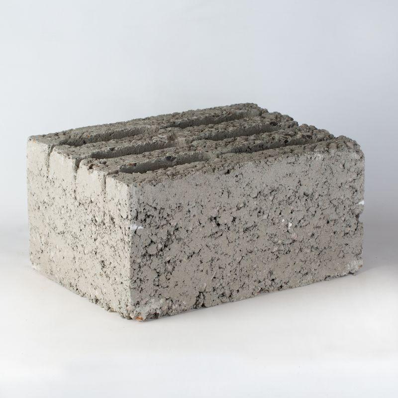 Керамзитоблок стеновой М-50 390х290х188 мм