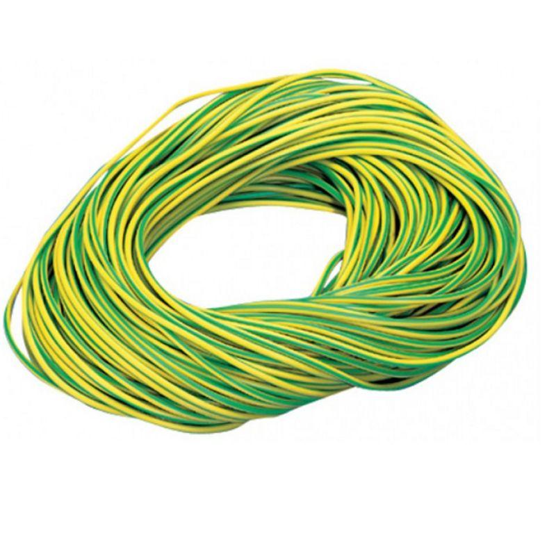 Провод ПуГВ 2,5 Ж/З ГОСТ (бухта 100м)Провод ПуГВ 2,5 Ж/З ГОСТ (бухта 100м)<br><br>Установочный провод круглого сечения с внешней ПВХ-оболочкой желто-зеленого цвета, с одной жилой из медных проволок разной степени лужения, с площадью сечения 2,5 мм2,<br><br>упаковка в бухтах по 100 метров, используется в качестве заземляющего проводника в электрических сетях с номинальным напряжением 450 В.<br><br>НАЗНАЧЕНИЕ:<br><br>Используется в качестве заземляющего проводника в электрических сетях с номинальным напряжением 450 В;<br><br>Монтаж электрических цепей, где требуется повышенная гибкость при прокладке;<br><br>Укладка кабельной электрической разводки под защитными материалами (штукатурка, облицовка, на потолках под навесными или натяжными конструкциями, в монолитный бетон или кирпичную кладку).<br><br>ПРЕИМУЩЕСТВА:<br><br>Гибкость: структура жил (которые выполнены из большого количества мелких проволок) позволяет легко изгибать провод под любым углом, т.о. провод применим в условиях, требующих большого количества перегибов кабеля;<br><br>Наличие защитной оболочки обеспечивает высокую стойкость провода к механическим повреждениям и ударным нагрузкам;<br><br>Цветная (желто-зеленая) оболочная облегчает процесс монтажа и ремонта кабельной электрической разводки;<br><br>Изоляцию можно просто и легко зачистить при необходимости;<br><br>Лучшие показатели коэффициентов теплового расширения;<br><br>Высокий коэффициент сопротивления;<br><br>Широкий диапазон температуры эксплуатации (от - 50&amp;deg;С до +65&amp;deg;С);<br><br>Провод с медными жилами не подвержен коррозии: может использоваться в помещениях с высокой относительной влажностью воздуха (до 98%);<br><br>Пожаробезопасность: оболочка не распространяет горение при одиночной раскладке;<br><br>Простота монтажа;<br><br>Долгий срок службы (от 20 лет).<br><br>РЕКОМЕНДАЦИИ:<br><br>Максимальная рабочая температура не должна превышать +70&amp;deg;С;<br><br>Минимальная температура для монтажа не должна быть ниже -15&amp;deg;С;<br><