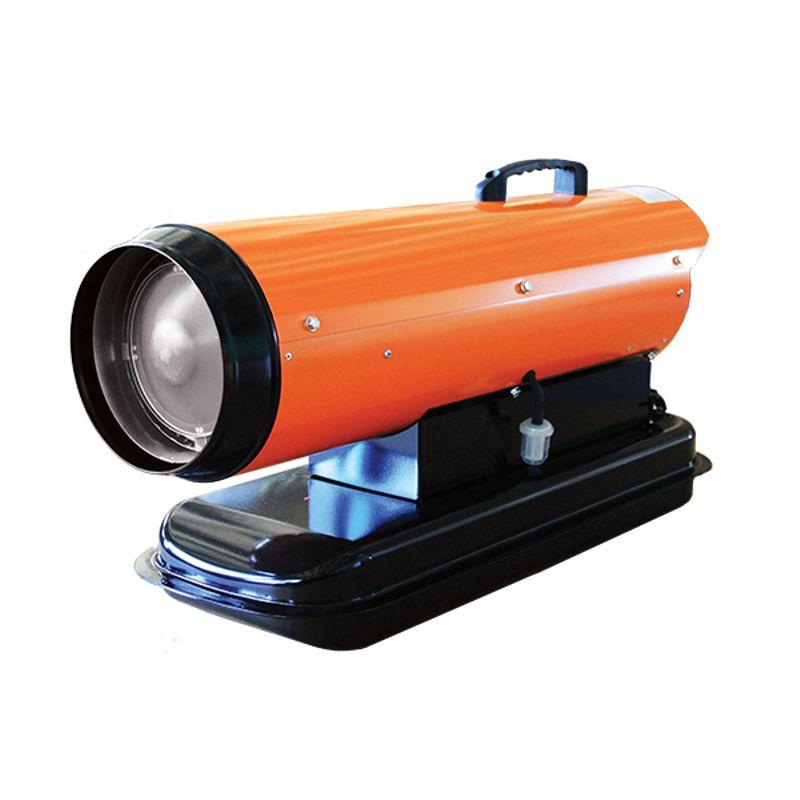 Пушка дизельная NEOCLIMA NPD 30Пушка дизельная NEOCLIMA NPD-30<br><br>Пушка на дизельном топливе и керосине от компании Neoclima серии NPD мощностью 30 кВт. При затухании топлива в камере сгорания останавливается работа пушки,<br><br>что говорит в пользу её надёжности.<br><br>Камера сгорания и экран для отражения тепла выполнены из нержавеющей стали. Корпус пушки из высококачественного металла защищает внутренности пушки от повреждения.<br><br>Корпус пушки защищён анти-коррозионным покрытием.<br><br>Топливо подаётся в камеру сгорания с помощью компрессора, при этом расход топлива осуществляется весьма экономично,<br><br>а само топливо перед использованием проходит стадию предварительного разогрева.<br><br>Подача топлива и воздуха контролируется встроенной защитной системой, как и наличие пламени в камере.<br><br>За счёт возможности направления потока горячего воздуха прогрев помещений большой площади будет осуществляться в течение короткого периода времени.<br><br>За счёт удобной ручки и формы корпуса пушку можно легко переносить и устанавливать.<br>Страна производитель: Россия; Бренд: Neoclima; Модель: Npd-30; Мощность: 30 кВт; Номинальное напряжение: 220 В; Объем бака: 16 л; Расход топлива: 2.5 кг/ч; Производительность: 450 м?/ч; Площадь отапливаемого помещения: 300 м?; Высота: 305 мм; Ширина: 762 мм; Глубина: 305 мм; Вес: 15 кг;