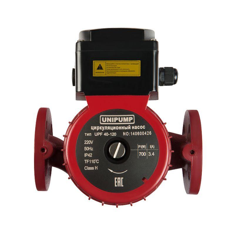 Насос циркуляционный Unipump UPF 50-120 280<br>Вид: Поверхностный; Тип: Циркуляционный; Применение: Для систем отопления; Применение: Промышленные циркуляционные системы; Производительность: Q max 12 м?/час; Максимальный напор: 12 м; Минимальная температура рабочей среды: + 2 °С; Максимальная температура рабочей среды: + 110 °С; Мощность: 1000 Вт; Напряжение: 220 В; Монтажная длина: 280 мм; Вес: 22 кг; Присоединительный размер: Dn 50; Тип ротора: Мокрый; Материал корпуса: Чугун; Степень защиты: IP 42; Комплектация: С фланцем; Бренд: Unipump; Страна производитель: Россия; Модель: Upf 50-120; Гарантия: 1 год;