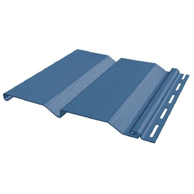 Сайдинг виниловый FineBer Standart Extra Color синий 3660х205мм