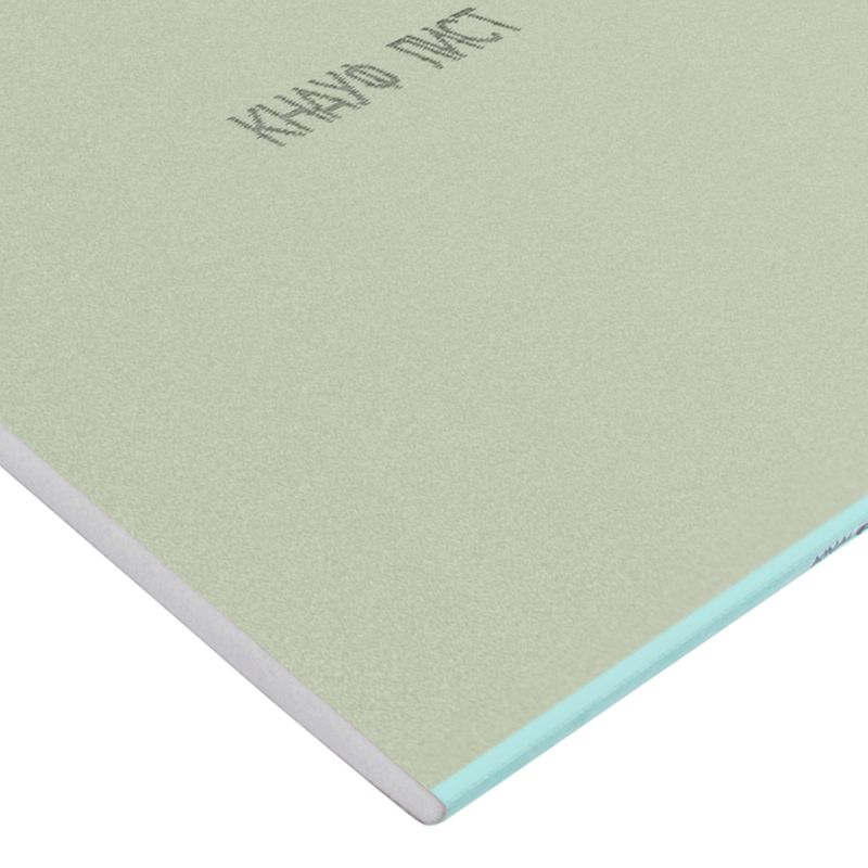 Лист гипсокартонный влагоогнестойкий Кнауф, 2500х1200x12,5 мм
