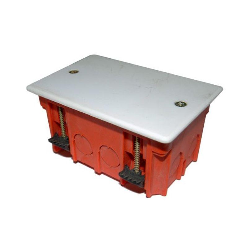 Коробка монтажная для гипсокартона SV-54935 100x60x50мм<br>Страна производитель: Россия; Бренд: СВЕТОЗАР; Цвет: Красный; Объект применения: Для гипсокартона; Количество выводов: 8; Назначение: Разветвление проводов и кабелей; Тип установки: Скрытый; Крепление коробки: Саморезы; Крепление проводов: На скрутку; Крепление проводов: На спайку; Форма коробки: Прямоугольная; Материал: Пластик; Степень защиты: IP20; Высота: 50 мм; Ширина: 60 мм; Длина: 100 мм; Минимальная температура эксплуатации: -25 °C; Максимальная температура эксплуатации: +40 °C;