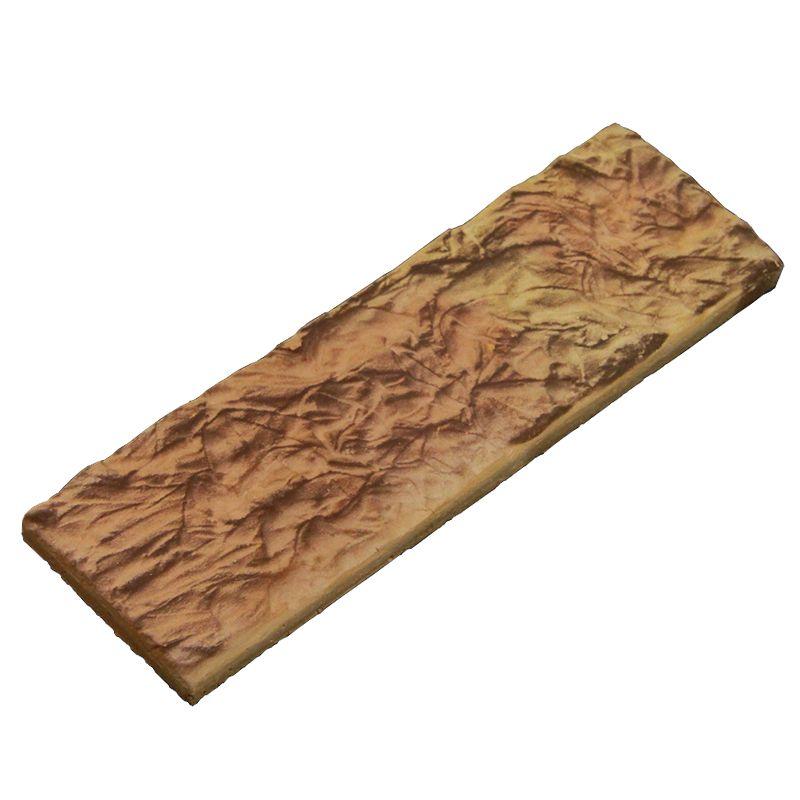 Камень декоративный Старый Замок Мини 70х240 мм (0,88 м.кв. в упак.)Плитка «Терракот» изготовлена из белой каолиновой глины без каких-либо добавок путем обжига при температуре свыше 1100 градусов Цельсия; не выцветает под действием солнечных лучей, высокой и низкой температуры, атмосферных осадков, ветра;<br>не изменяет геометрическую форму под действием солнечных лучей, высокой и низкой температуры, атмосферных осадков;<br>не разрушается под действием влаги и холода. Морозостойкость плитки составляет 75 циклов;<br>не разрушается под действием высоких температур. Жаростойкость плитки составляет 1100 градусов Цельсия, что позволяет широко применять терракотовую плитку для облицовки печей, каминов, барбекю, мангальных зон и банных экранов;<br>не выделяет никаких запахов и испарений;<br><br><br>Бренд: Терракот; Особые свойства: Жаростойкость 1100°С; Размер плитки: 240х70х10 мм; Коллекция: Старый Замок Мини; Цвет производителя: Терракотовый теплый; Тип работ: Для наружных работ; Дизайн: Камень; Материал: Глина; Водопоглащение: 7 %; Морозостойкость: F 100; Класс прочности на сжатие: B 30; Класс прочности на изгиб: Btb 16; Количество: 44 шт/уп; Площадь: 0,88 м?/уп; Вес: 19 кг; Производитель: Терракот; Страна производитель: Россия; Цвет: Коричневый;