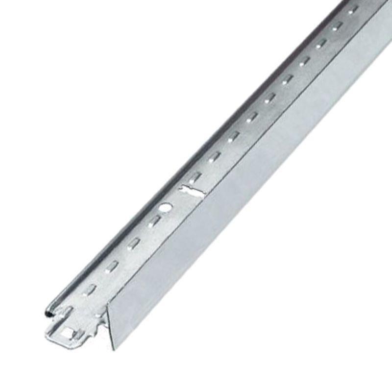 Подвесная система Албес Т-24 24х29х1200 белая матоваяПодвесная система Албес Т-24 24х29х1200 белая матовая<br><br>Поперечный профиль<br><br>НАЗНАЧЕНИЕ:<br><br>Для монтажа металлического потолка и из минераловолокна;<br><br>Для плит размером 600х600, 600х1200;<br><br>для монтажа кассетных потолков с кромками&amp;nbsp;&amp;laquo;TEGULAR&amp;raquo;&amp;nbsp;или&amp;nbsp;&amp;laquo;BOARD&amp;raquo;;<br><br>Для установки в помещениях с нормальной влажностью, общего назначения;<br><br>Используется комплекте с несущим и коротким поперечным профилем;<br><br>ПРЕИМУЩЕСТВА:<br><br>Простота монтажа (рейки вставляются одна в другую при помощи врезанных замков, без использования доп. Инструмента);<br><br>Прочный (выдерживает нагрузку до 8 кг/м2);<br><br>Не подвержен коррозии (из стали);<br><br>Не горючий материал;<br><br>Оснащен пожарным компенсатором(потолок не обрушится во время пожара);<br><br>РЕКОМЕНДАЦИИ<br><br>Общие&amp;nbsp;рекомендации:<br><br>Перед началом работ составьте план помещения и потолка;<br><br>Коммуникации закрепите на подвесах;<br><br>При помощи уровня, получите горизонтальную плоскость;<br><br>Рекомендации по работе:<br><br>По полученной плоскости закрепите уголки;<br><br>Несущий профиль установите на подвесах с шагом 1200 мм;<br><br>Профиль 3,7 метра закрепите встык, если длина помещения более 3,7 метра;<br><br>Профиль 1200 закрепите в несущем при помощи замков;<br><br>Профиль на 600 мм закрепите в несущем, перпендикулярно профилю на 1200мм;<br><br>Осветительные приборы закрепите на независимых подвесах;<br><br>МЕРЫ&amp;nbsp;ПРЕДОСТОРОЖНОСТИ:<br><br>Не размещайте проводку на каркасе;<br><br>Не применяйте в помещениях с повышенной влажностью;<br>Страна производитель: Россия; Бренд: Албес; Коллекция: Албес Т-24; Цвет производителя: Белый матовый; Тип подвесной системы: Кассетный; Тип подвесной системы: Грильято; Профиль: Поперечная направляющая; Материал: Жесть; Тип замка: Цельновырубленный; Особые свойства: Нет; Ширина видимой части профиля: 24 мм; Длина про