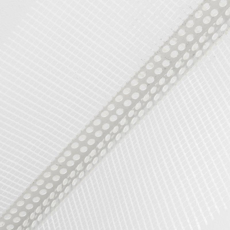 Профиль угловой ПВХ с армирующей сеткой 10х15, 2,5 м
