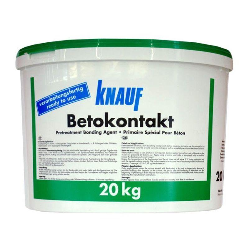 Купить Грунтовка Кнауф Бетоконтакт, 20 л, Knauf